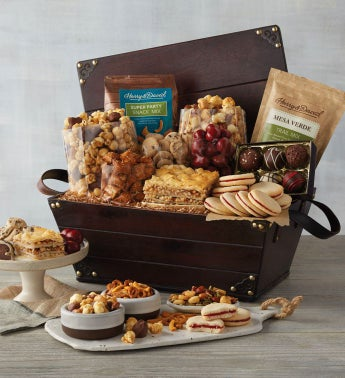 Sweet and Savory Wood Chest Gift