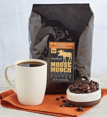 Milk Chocolate Caramel Moose Munch174 Coffee 24 oz