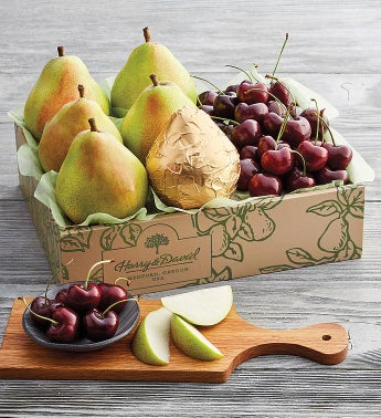 Royal Verano174 Pears and Plump-Sweet Cherries