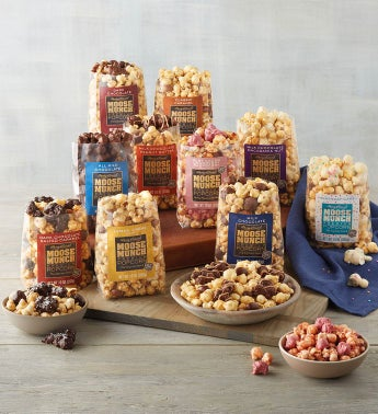 Moose Munch® Premium Popcorn Discovery Box Subscription