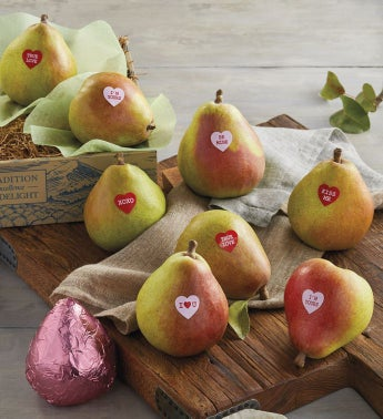 Valentine39s Day Pears Gift Box