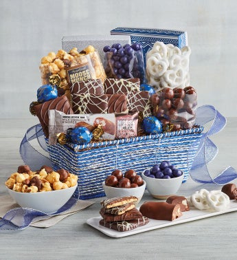 Festive Chocolate Gift Basket