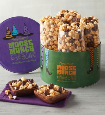 Halloween Moose Munch174 Premium Popcorn Tin