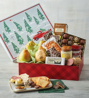 Winter Scene Gift Box