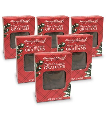 Holiday Milk Chocolate Grahams - 12 Pack