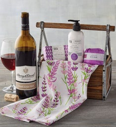 Mother's Day Spa Gift with Wine