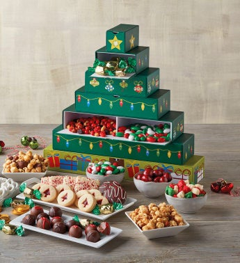 Holiday Tree Sweets Box
