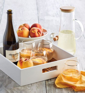 Oregold174 Peach Bellini Gift Set