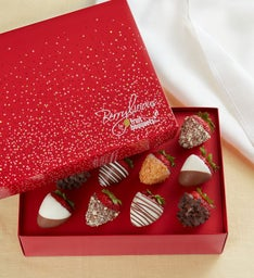 Berrylicious Deluxe Chocolate-Covered Strawberries – 6 Count