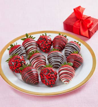 Cupid39s Choice Chocolate-Covered Strawberries 8211 12 Count