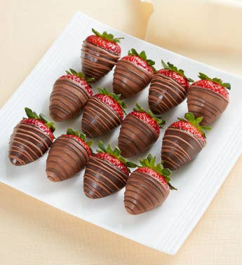 Berrylicious174 Sugar-Free Chocolate-Dipped Strawberries 8211 12 Count