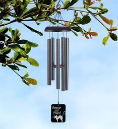 Forever Our Cat Memorial Wind Chime