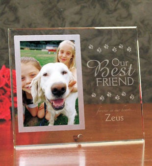 Our Best Friend Pet Memorial Frame