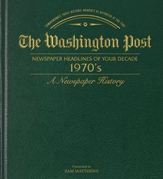 Washington Post 70's Decade Book