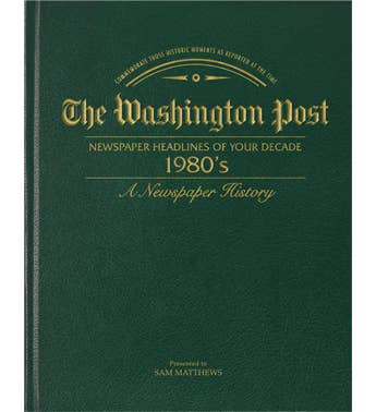 Washington Post 80's Decade Book