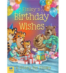 Kids Personalized Birthday Wishes Book