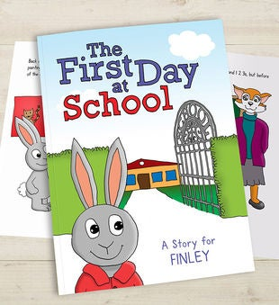 Personalized First Day of School Storybook