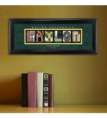 Personalized Collegiate Framed Print