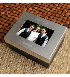 Lasting Memories Groomsmen Keepsake Box