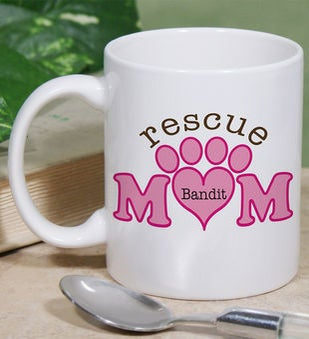 Personalized Rescue Mom Mug