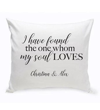 Personalized Solomon Throw Pillow
