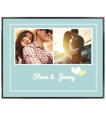 Personalized Love Notes Sky Framed Poster
