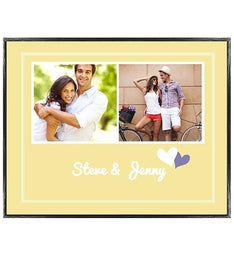 Personalized Love Notes Framed Poster