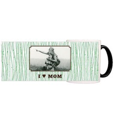Personalized Mom Grass Magic Mug