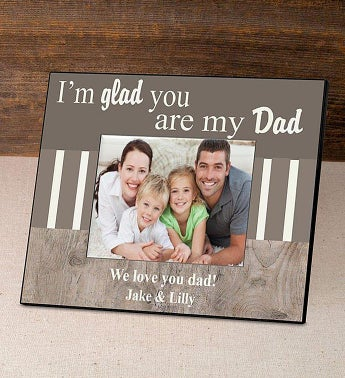 Personalized Im Glad Picture Frame