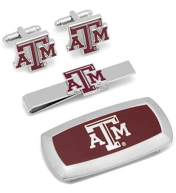 Texas A&M Aggies 3-Piece Cushion Gift Set