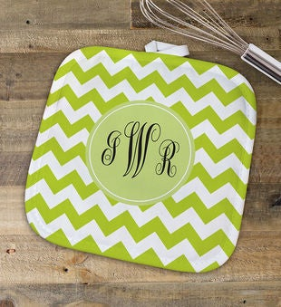 Monogram Madness Pot Holder