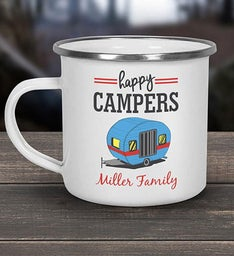 Happy Campers Personalized Camper Mug