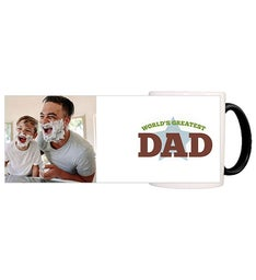 Personalized Worlds Greatest Dad Magic Mug