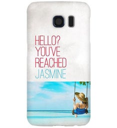 Personalized Ring Ring Samsung Galaxy S6 Case