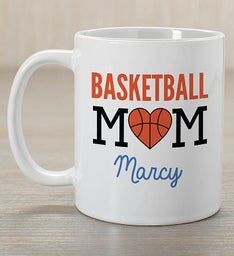 Personalized Sport Mom Coffee Mug
