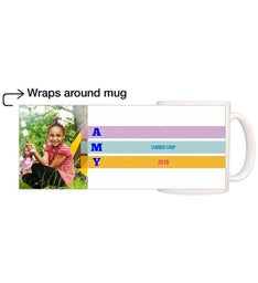 Personalized Colorful Magic Mug