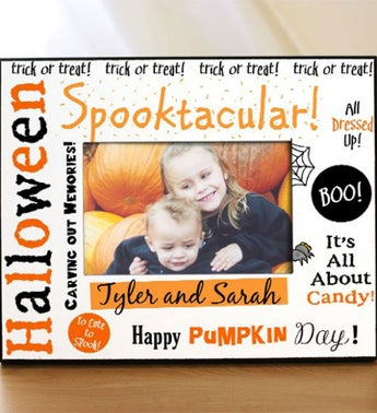 Personalized Spooktacular Halloween Printed Frame