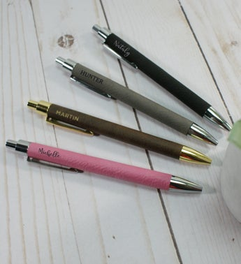 Personalized Name Leather Pen
