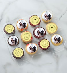12-24 Mini Personalized Get Well Cupcakes