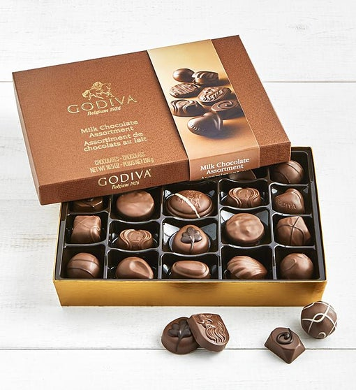 Godiva Milk Chocolate Assortment Box