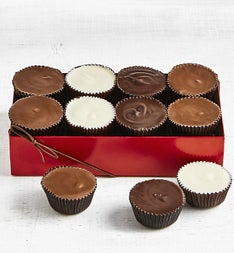 Simply Chocolate Giant Peanut Butter Cups