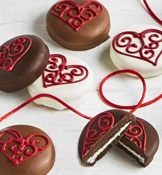 The Sweet Shop 6pc Love Hearts OREO® cookies