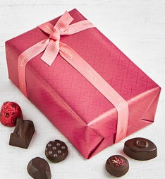 Neuhaus Valentine Dark Chocolate Ballotin 17 pc