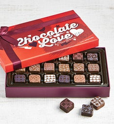 Max Brenner 18 Pc Chocolate Love Bon Bon Box