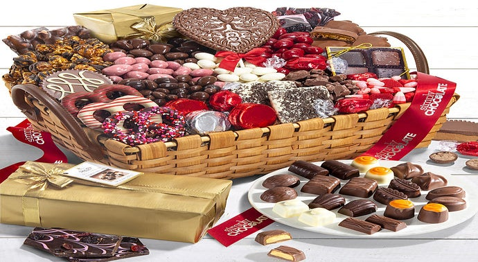 Chocolate Candy Delivery Chocolate Gift Baskets 1800flowers