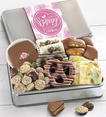 Simply Chocolate Spring Confections Tin