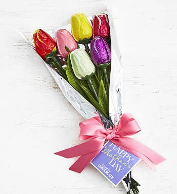 Simply Chocolate Mother's Day Tulip Bouquet