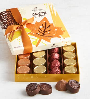 Lake Champlain Autumn Chocolates of Vermont 16pc