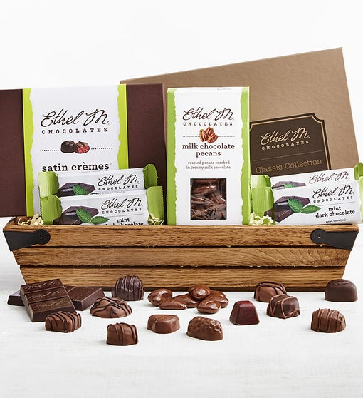 Ethel M Chocolate Exclusive Gift Crate