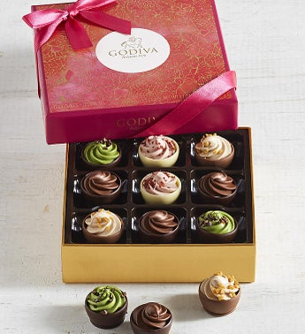 Godiva Cups of Love Chocolates Box 9pc